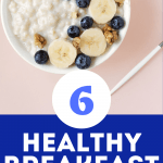 Check out these healthy breakfast ideas that you can make on the go! These quick clean eating options will make your mornings healthier in no time! #healthyeats #yummyrecipes
