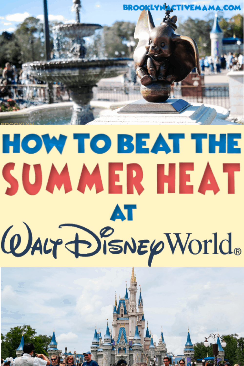 Walt Disney World summer heat does not have to make you miserable. Start your vacation off right with these must-have summer items. #disney #disneytips