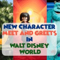 New Character Meet and Greets in Walt Disney World