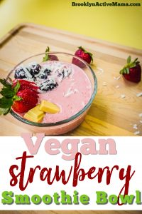 It can be hard to eat right for breakfast so I am sharing with you some healthy breakfast ideas + a super simple vegan strawberry smoothie bowl recipe!