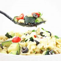Tomato Cucumber Greek Pasta Salad Recipe