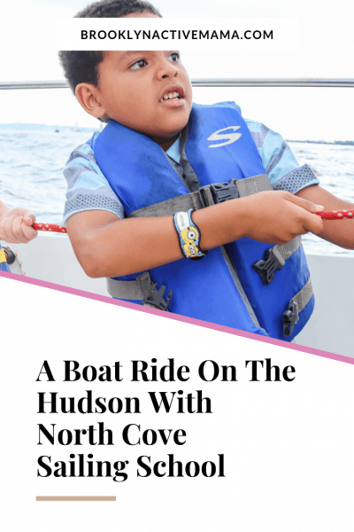 Did you know that your kids can take boating lessons on the Hudson River with North Cove Sailing School? Check out my experience with the kids sail camp! #boating #hudsonriver #northcove #kidsailing