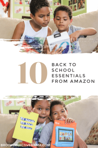 We all love to shop at Amazon year round but what are you getting for back to school? Check out these Happy School Year Back To School Essentials!