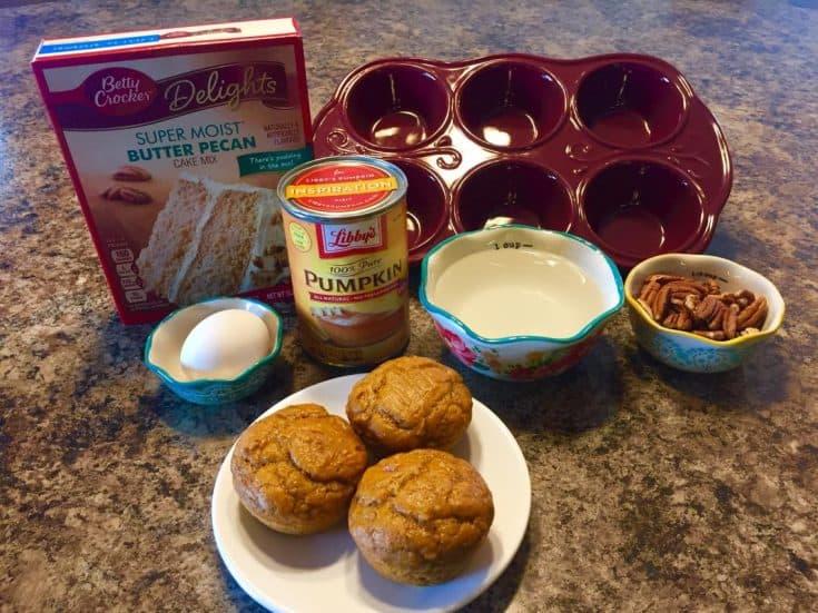 Pecan Pumpkin Muffins Recipe - Shopping Kim