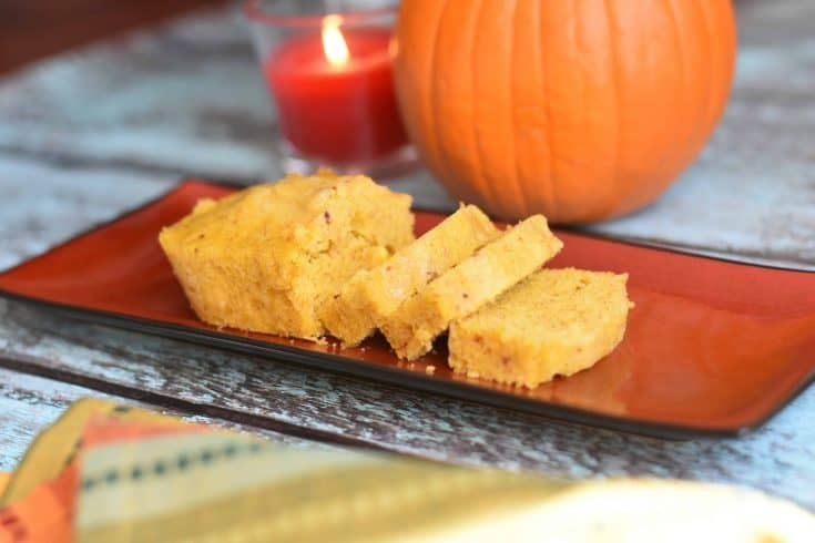 Pumpkin Spice Cornbread in Instant Pot (or Oven)