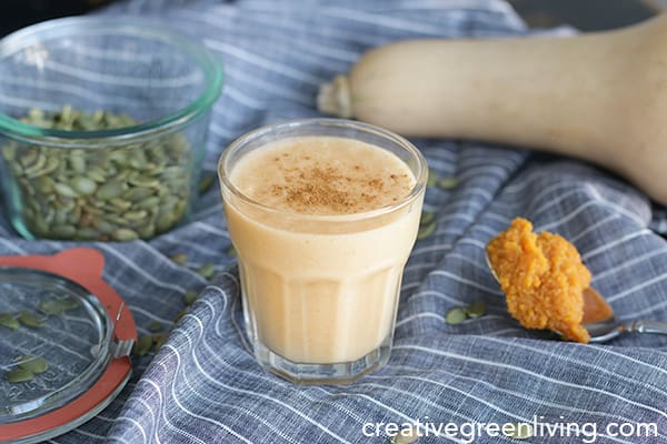 Pumpkin Spice Vegan Milkshake