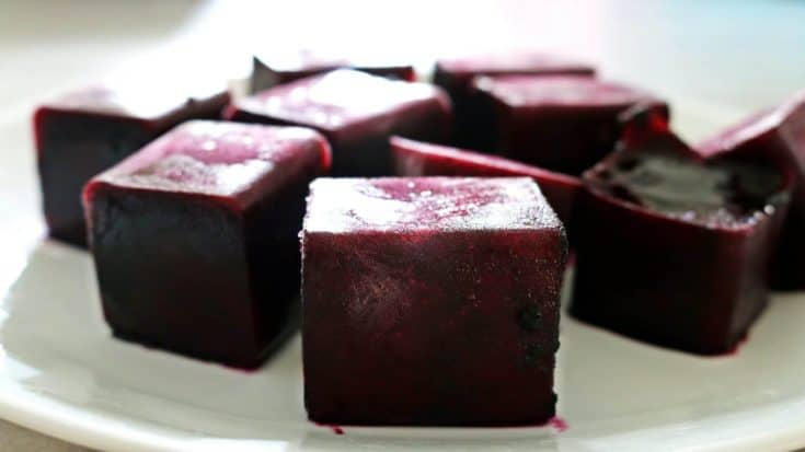 100% Beet Cubes for Pink Foods – Your Kids Will Never Expect It