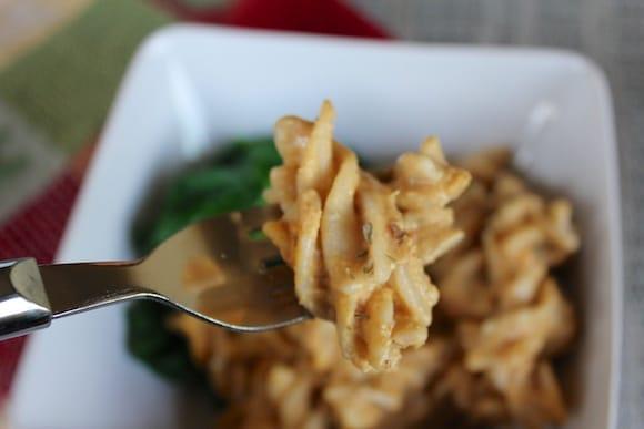 Vegan Macaroni Squash