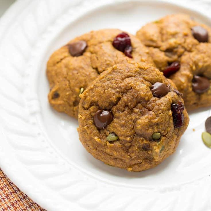 Pumpkin Power Breakfast Cookies {Gluten-Free, Vegan}