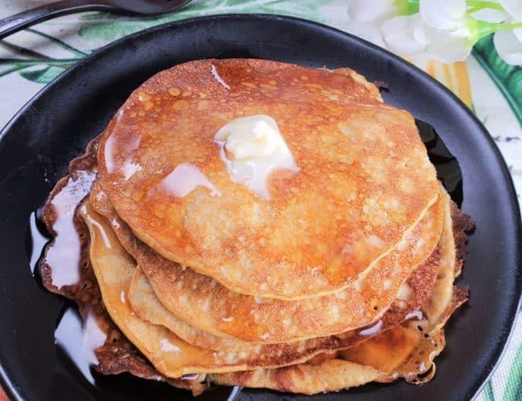 Low Carb Pumpkin Cheesecake Pancakes