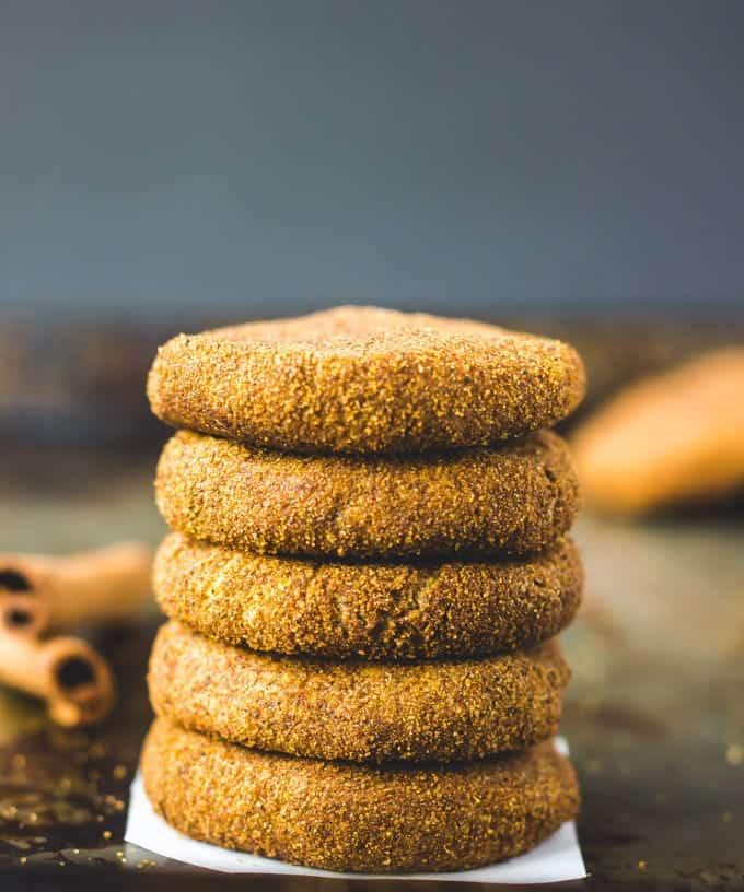 Paleo Pumpkin Spice Protein Cookies