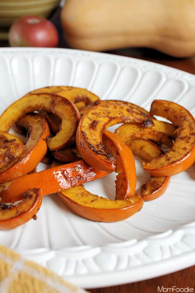 Spicy Honey Roasted Pumpkin Recipe