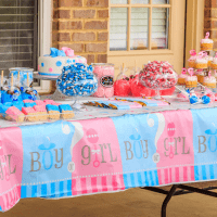 How To Plan A Gender Reveal Party + A Pink and Blue Oreos Recipe