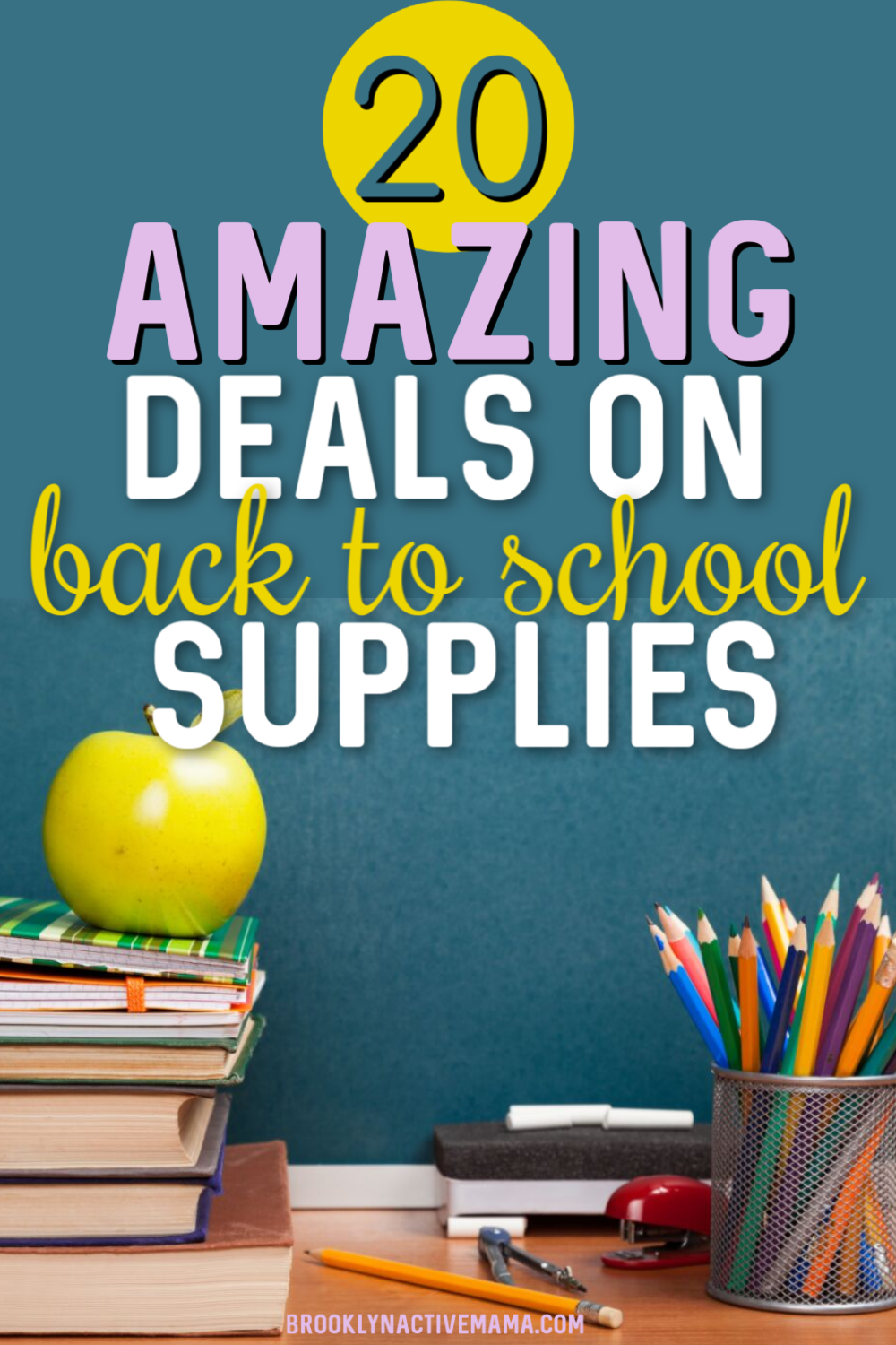 Shopping for back to school supplies can get expensive really quickly! Check out these 20 deals on back to school supplies that you can't miss! #backtoschool #backtoschoolsupplies