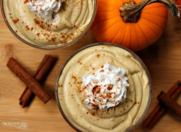 Pumpkin Spice Mousse – Vegan, Dairy Free and Keto
