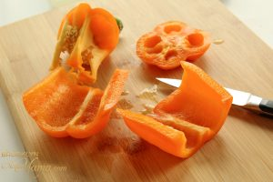 orange peppers for slicing