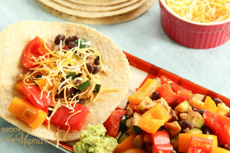 Yummy Veggie Tacos Recipe -- Perfect For Busy Weeknights
