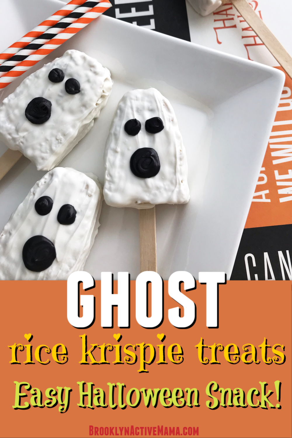 Check out these easy and fun ghost halloween snacks for kids! These treats are perfect for family friendly halloween parties and get togethers!