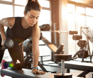 One way to fight a slowing metabolism is with a great strength training routine. Here are 7 of the best strength training exercises for women over 35!