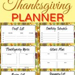 I'm sharing tips on how to host a fantastic dinner party + a free #thanksgiving meal planner download to help you manage recipes, guests, ingredients and more! This easy printable will help you plan your side dishes, main course, desserts and so much more! You can even add your make ahead recipes! This planner will keep you super organized for the holiday season. #freeprintable #thanksgiving2019 #thanksgivingprintable