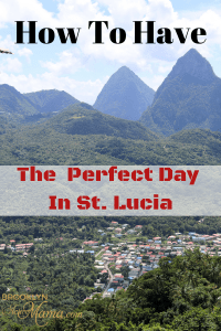 St. Lucia has many amazing things to do on the island. The Coconut Bay Beach Resort Land and Sea Tour makes it easy! Here is an incredible itinerary that will help you have a Perfect Day in St. Lucia! #hosted #StLucia #travel #LetHerInspireYou