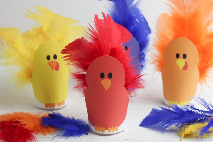 Easy Thanksgiving Crafts For Kids: Turkey Feathers