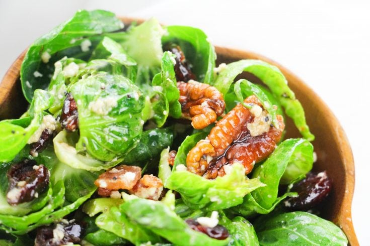 Easy Brussel Sprouts Salad: Yummy and Healthy Sides