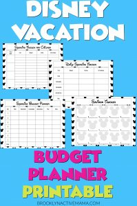 These are some cheap Disney World tips and activities to do on your next vacation. PLUS Here's a helpful free disney budget planner printable download to use! These worksheets are perfect for families as they include a children's spending planner sheet as well.#disneyworldtips #disneyonabudget #freeplanner #freevacationplanner