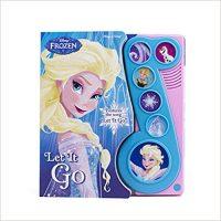 Disney Frozen - Let It Go Little Music Note Sound Book - PI Kids