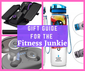 Looking for a gift for person in your life that loves to workout and stay fit? From water bottles to workout equipment to headphones, I've got the best Christmas Gift Guide for The Fitness Junkie in your life!
