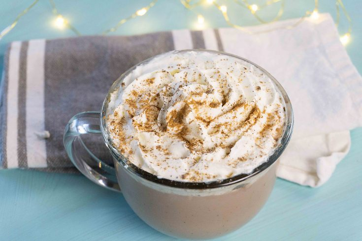 Yummy Gingerbread Hot Chocolate Recipe