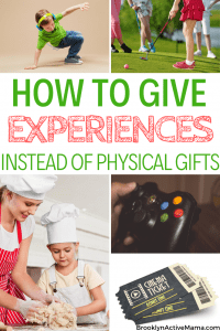 Looking for creative experiences to give kids instead of toys that will just end up cluttering the home? I've got 7 awesome options for you to choose from!