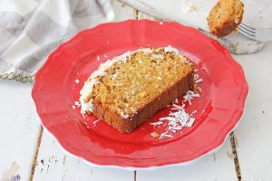 This Gingerbread Loaf with Cream Cheese Icing is perfect for holiday gifts or Christmas parties! Celebrate the season with this amazing recipe!