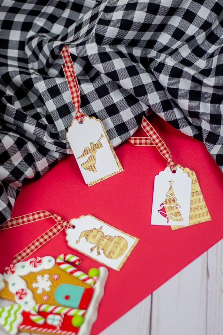 Free Cricut Christmas Gift Tags Template
