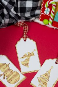 These free Cricut Christmas gift tags are just so cute and SO festive and will add a special touch to the gifts you plan to give this season! What is included in the Cricut Christmas gift tags file? You have the option of choosing the free SVG, EPX, PNG, PDF, DXF in the free download. #cutfiles #cricutfiles #freesvg #christmassvg