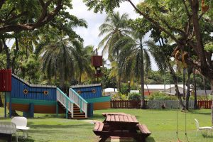 The Coconut Bay Beach Resort and Spa has the most incredible kids facilities on of St. Lucia. Check out why this is the best all inclusive kids resort! They have amazing games, educational lessons, high quality child care while you enjoy your vacation!