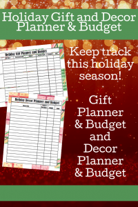 The holidays can get so expensive so quickly! Here are some easy ways to host Christmas Dinner on a budget, plus be prepared with this free printable holiday budget planner to keep track of your gifts and decor purchases! #ChristmasTime
