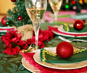 The holidays can get so expensive so quickly! Here are some easy ways to host Christmas Dinner on a budget, plus a free printable holiday budget planner!