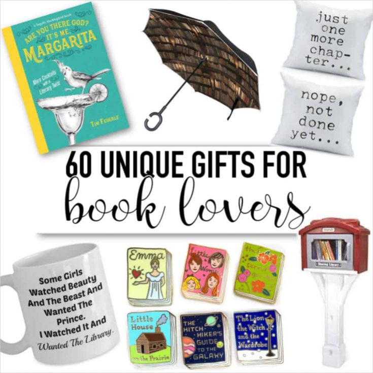 60 Unique Gifts for Book Lovers: The Right Present for Any Reader