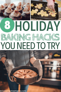 Doing a lot of baking this holiday season? Check out these easy and useful holiday baking tips that will make baking a lot less stressful!