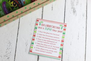 This DIY Slime Maker Box Craft can be a great activity for you and the kids to do, it can also be a really fun gift to make for others too!This is a fantastic last minute birthday gift plus it comes with a free printable gift tag! This sensory gift is perfect to keep the kids busy for hours. #slime #slimecraft #slimegift #slimeobsessed #DIYChristmasgift #giftsforkids