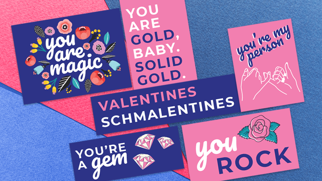 Celebrate anti-valentine's day with your favorite BFFs by giving them these Galentine's Day cards! Your friends will love this free printable! #galentinesday #freeprintable
