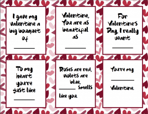 Looking for a fun Valentine's Day Game to play with the kids? Check out this fun Wacky Questions Game printable download that will entertain the kids at a party, home or even in the classroom! This Wacky Questions is a fun play on Cards Against Humanity and will keep the kids laughing! #valentinesdaygames #valentinesday #freeprintable #valentinesdaydownload