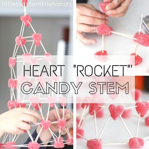 Valentines Day Candy Structures STEM Activity