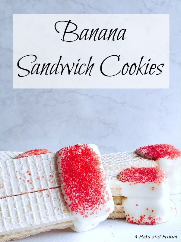 Easy Valentine's Recipe – Banana Sandwich Cookies