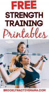 Free Strength Training Printables