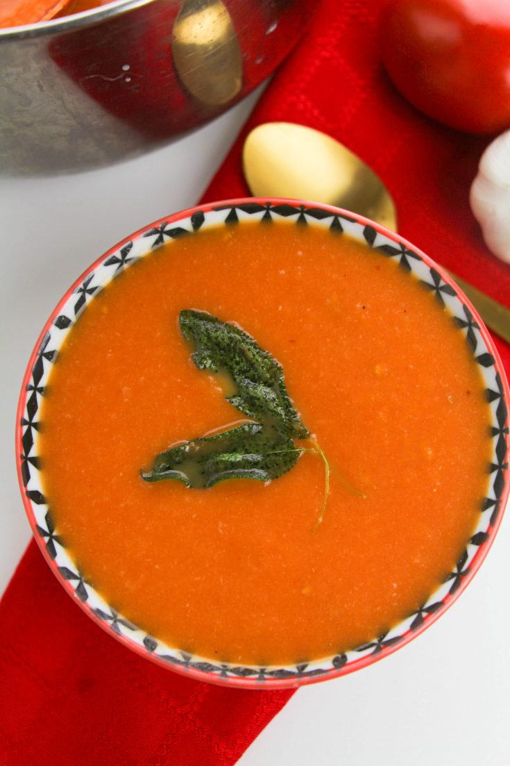 Insanely Good Roasted Tomato Soup