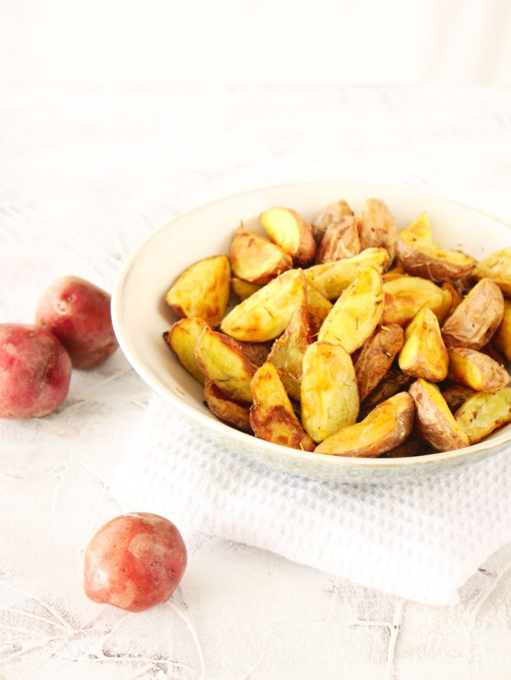 Easy Air Fryer Baby Potatoes