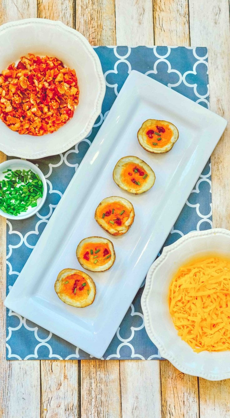 Easy and Delicious Air Fryer Potato Skins