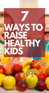 Here are 7 easy measures and actions that you can take as a parent if you want to raise healthy children in the best environment.